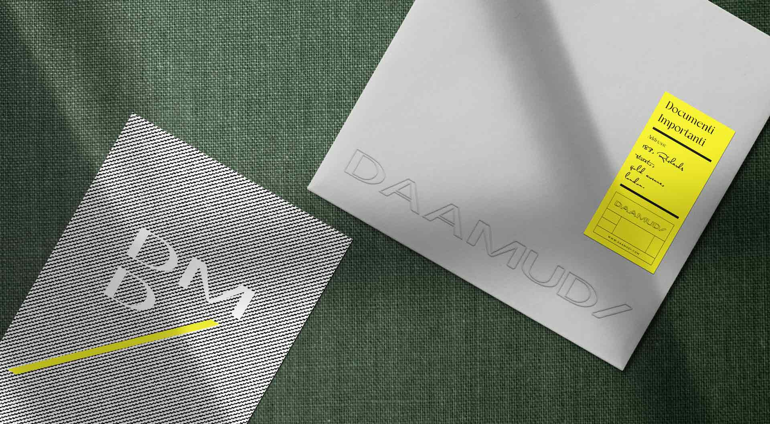 Business Identity for Daamudi Italian Furniture