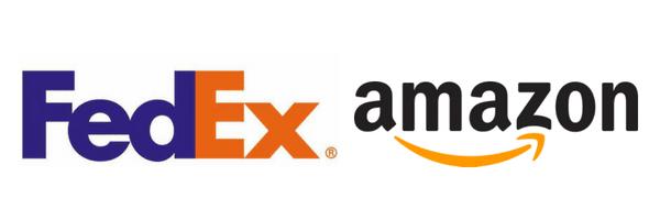 Fedex&Amazon-logo